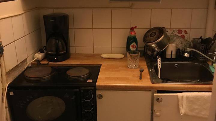 Kompakt kokvrå - Före