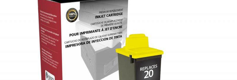 Color Ink Cartridge for Lexmark #20