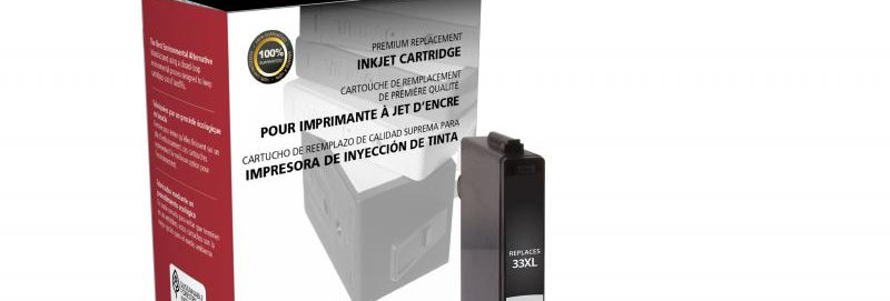 Non-OEM New Extra High Capacity Cyan Ink Cartridge for Dell Series 33XL