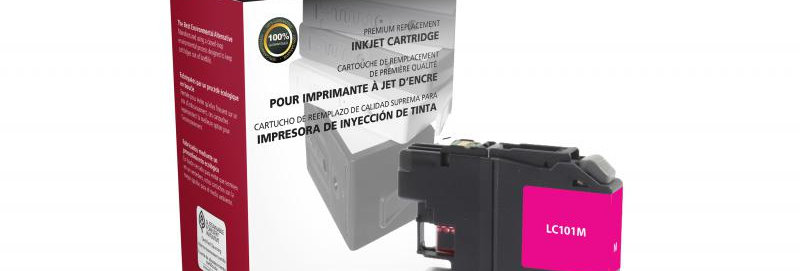 Non-OEM New Magenta Ink Cartridge for Brother LC101