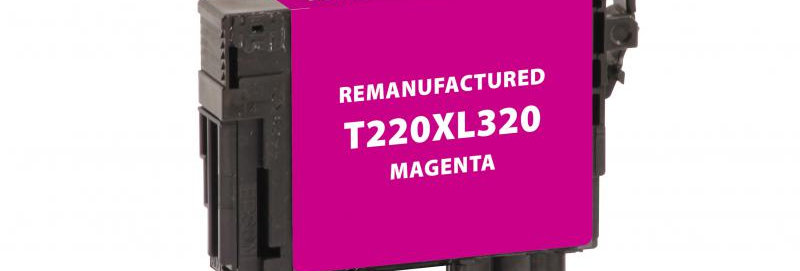 EPC Remanufactured High Capacity Magenta Ink Cartridge for Epson T220XL320