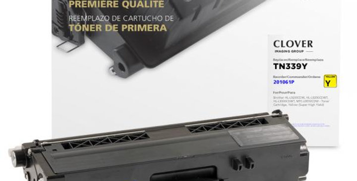 Super High Yield Yellow Toner Cartridge for Brother TN339
