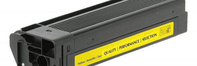 Non-OEM New High Yield Yellow Toner Cartridge for OKI 43324401/43381901