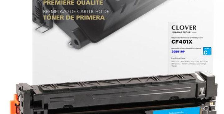 High Yield Cyan Toner Cartridge for HP CF401X (HP 201X)