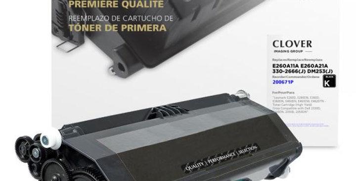 High Yield Universal Toner Cartridge for Lexmark E260/E360/E460/E462