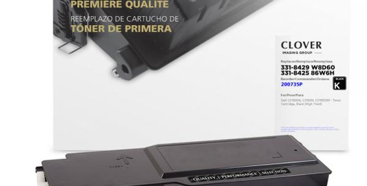 High Yield Black Toner Cartridge for Dell C3760