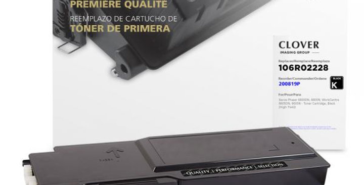 High Yield Black Toner Cartridge for Xerox 106R02228