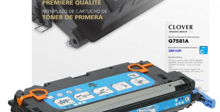 Cyan Toner Cartridge for HP Q7581A (HP 503A)