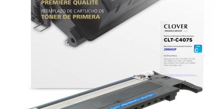 Cyan Toner Cartridge for Samsung CLT-C407S