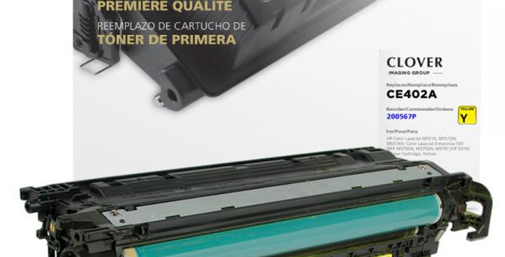 Yellow Toner Cartridge for HP CE402A (HP 507A)