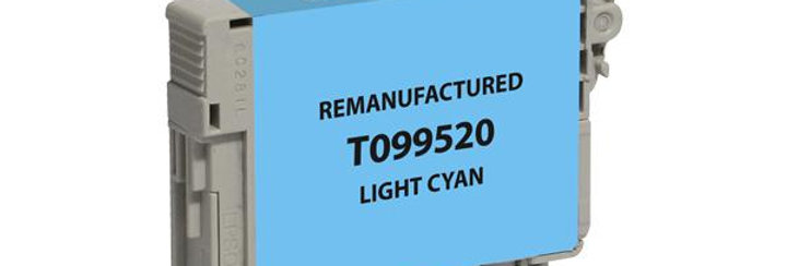 EPC Remanufactured Light Cyan Ink Cartridge for Epson T099520