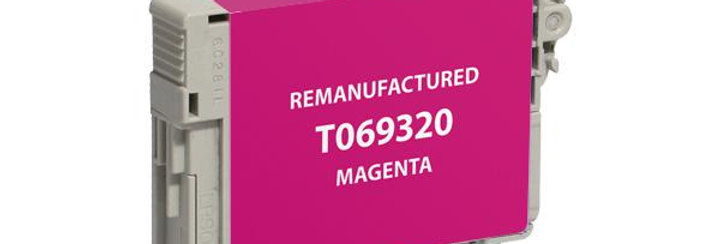 EPC Remanufactured Magenta Ink Cartridge for Epson T069320