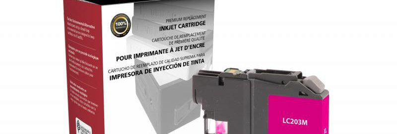 High Yield Magenta Ink Cartridge for Brother LC203XL