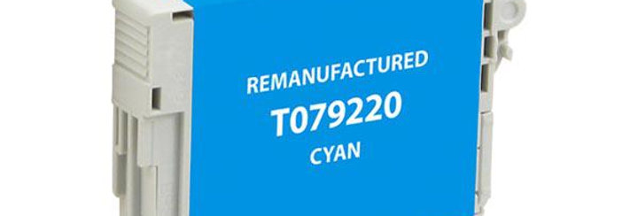 EPC Remanufactured High Capacity Cyan Ink Cartridge for Epson T079220