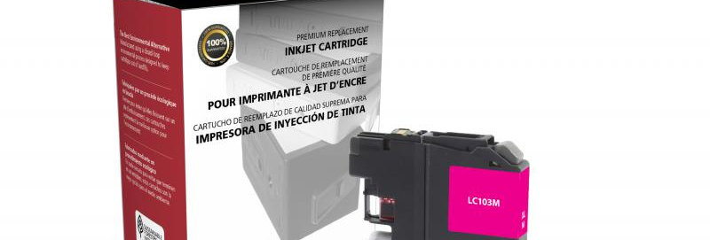 Non-OEM New High Yield Magenta Ink Cartridge for Brother LC103XL