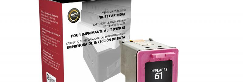 Tri-Color Ink Cartridge for HP CH562WN (HP 61)
