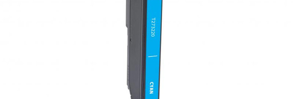 EPC Remanufactured Cyan Ink Cartridge for Epson T273220