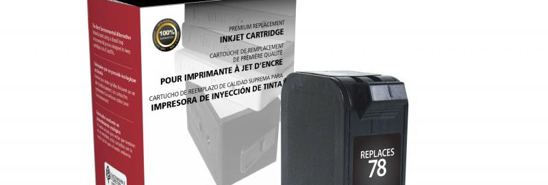 Tri-Color Ink Cartridge for HP C6578DN (HP 78)