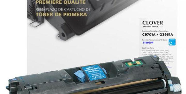 Cyan Toner Cartridge for HP C9701A/Q3961A (HP 121A/122A/123A)
