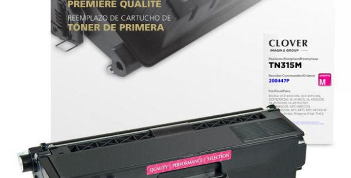 High Yield Magenta Toner Cartridge for Brother TN315