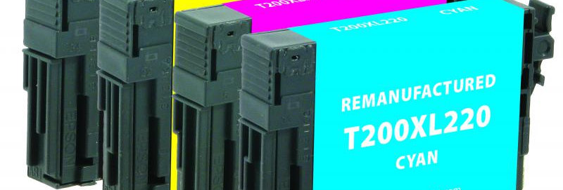 Black High Capacity, Ink Cartridges for Epson T200XL-BCS 4-Pack