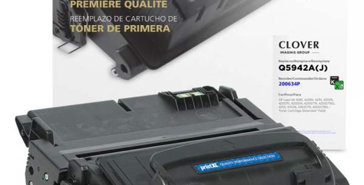 Extended Yield Toner Cartridge for HP Q5942A