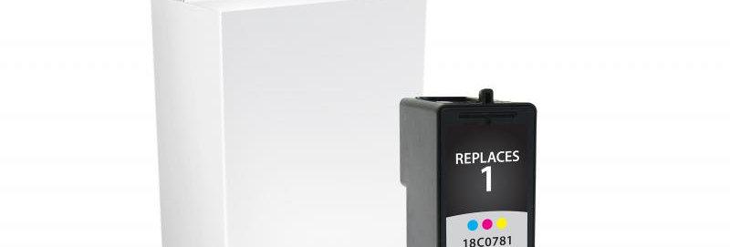 Color Ink Cartridge for Lexmark #1
