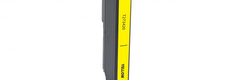 EPC Remanufactured Yellow Ink Cartridge for Epson T273420
