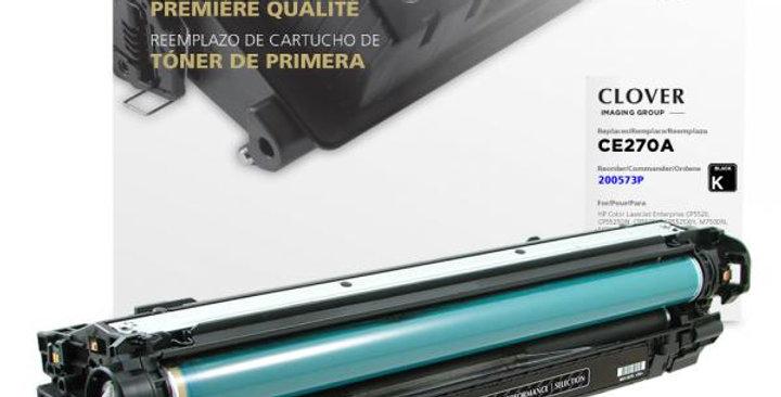 Black Toner Cartridge for HP CE270A (HP 650A)