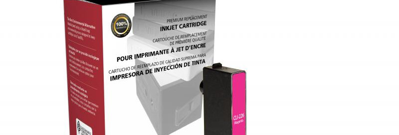 Non-OEM New Magenta Ink Cartridge for Canon CLI-226