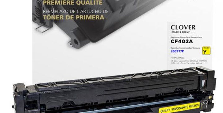 Yellow Toner Cartridge for HP CF402A (HP 201A)