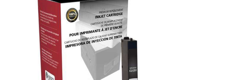 Yellow Ink Cartridge for Canon CLI-251