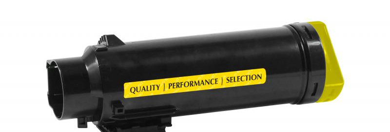 Extra High Yield Yellow Toner Cartridge for Dell H825