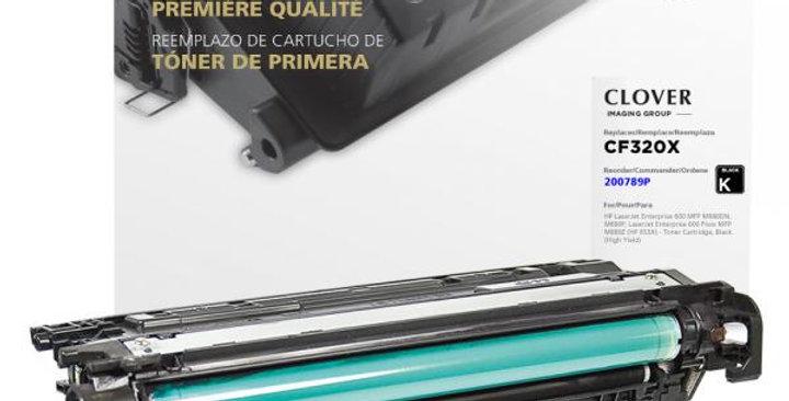 High Yield Black Toner Cartridge for HP CF320X (HP 653X)