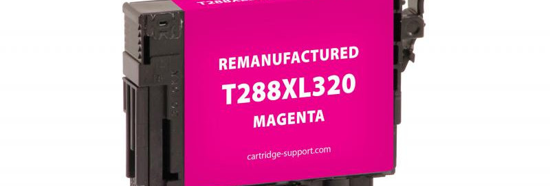 EPC Remanufactured High Capacity Magenta Ink Cartridge for Epson T288XL320