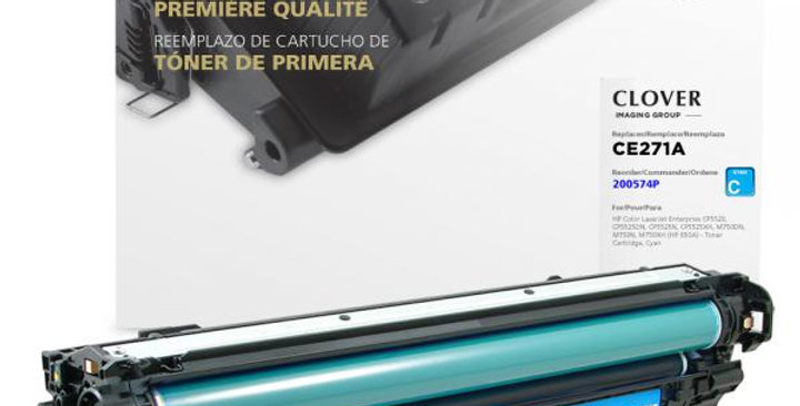 Cyan Toner Cartridge for HP CE271A (HP 650A)