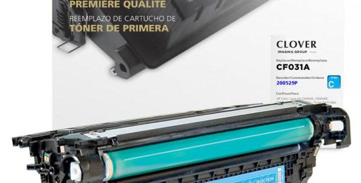 Cyan Toner Cartridge for HP CF031A (HP 646A)