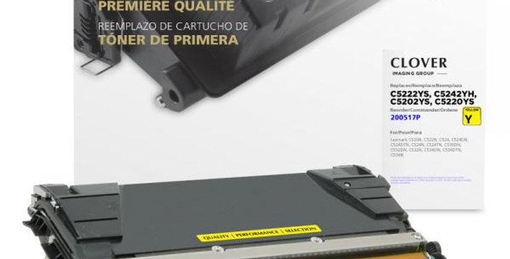 High Yield Yellow Toner Cartridge for Lexmark C520/C522/C524/C534