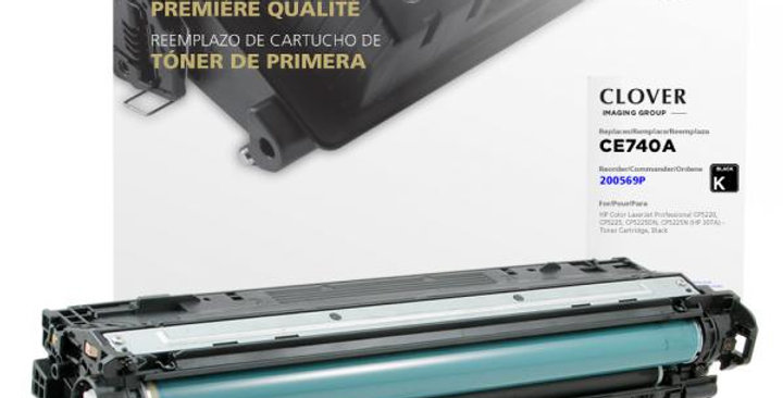 Black Toner Cartridge for HP CE740A (HP 307A)