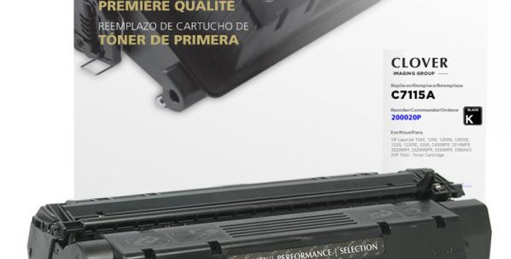 Toner Cartridge for HP C7115A (HP 15A)