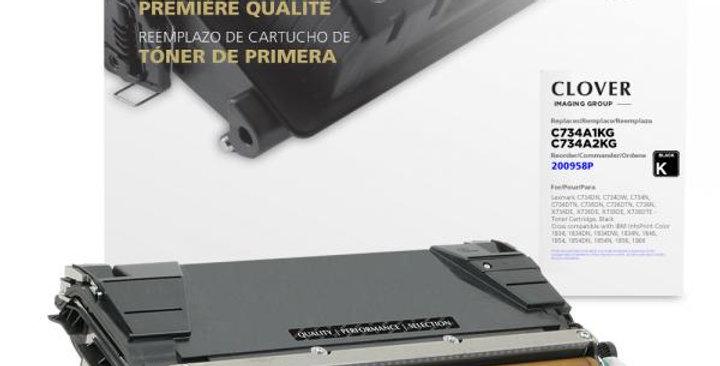 Black Toner Cartridge for Lexmark C734