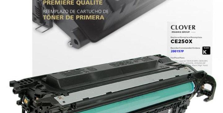 High Yield Black Toner Cartridge for HP CE250X (HP 504X)