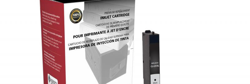 Non-OEM New High Yield Black Ink Cartridge for Canon CLI-251XL