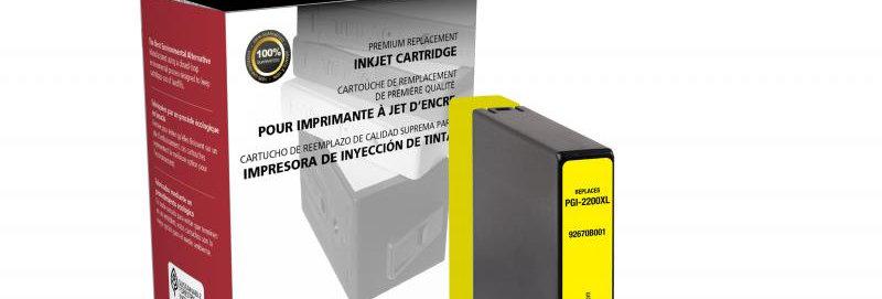 Non-OEM New High Yield Yellow Ink Cartridge for Canon PGI-2200XL