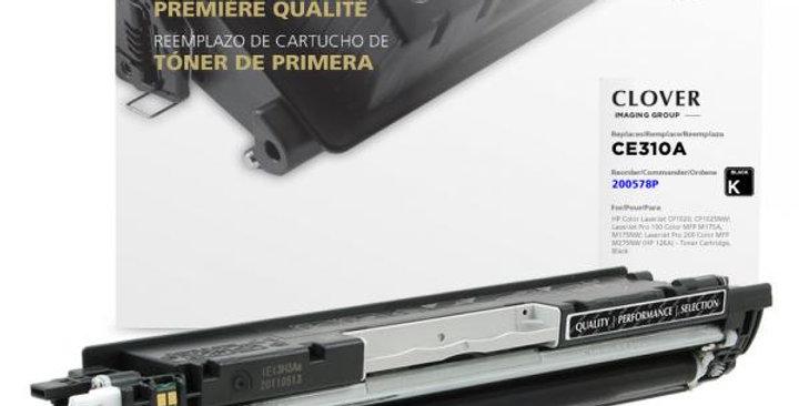 Black Toner Cartridge for HP CE310A (HP 126A)