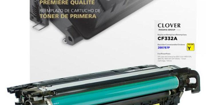 Yellow Toner Cartridge for HP CF332A (HP 654A)