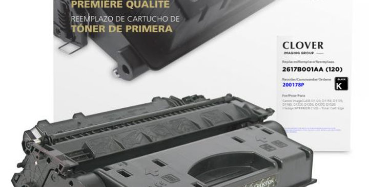 Toner Cartridge for Canon 2617B001AA (120)