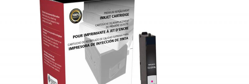 Non-OEM New High Yield Magenta Ink Cartridge for Canon CLI-251XL