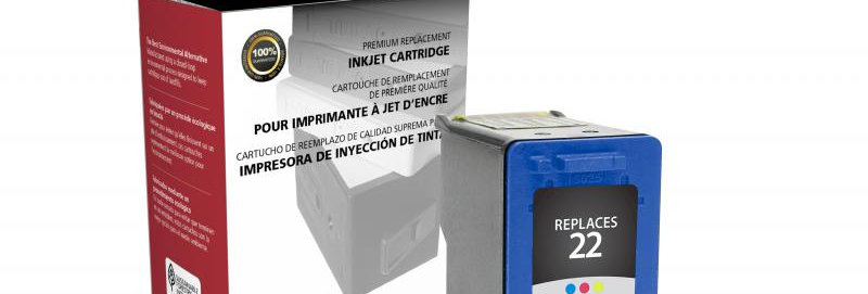 Tri-Color Ink Cartridge for HP C9352AN (HP 22)