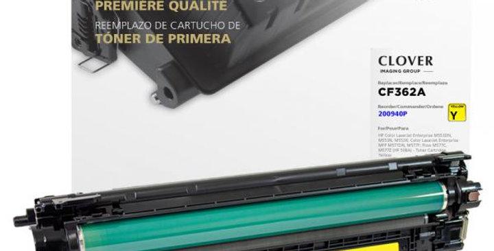 Yellow Toner Cartridge for HP CF362A (HP 508A)